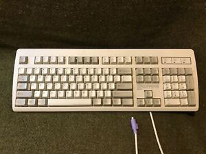 Vintage-WINDOWS-Computer-Keyboard-NMB-RT2358TW-w-Number-Pad-Cord