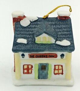 VTG-1991-Queens-Inn-Reader-039-s-Digest-Christmas-Holiday-Lighted-Ornament-Bell-3-034