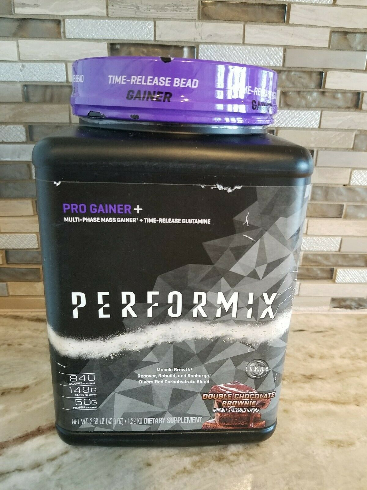 Performix Pro Gainer+ Multi-Phase Mass Gainer 2.69lbs Double