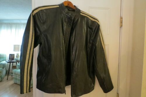 Vintage MOTORCYCLE /RACING Leather Jacket -  Mens