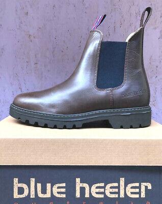 Nachdenklich Blue Heeler Jackaroo, Boots, Stiefeletten, Chelseaboots, Braun / Blau, B-ware Auf Der Ganzen Welt Verteilt Werden