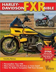 HARLEY-DAVIDSON-FXR-BIBLE-HISTORY-HOW-TO-CUSTOMIZE-GALLERY-book