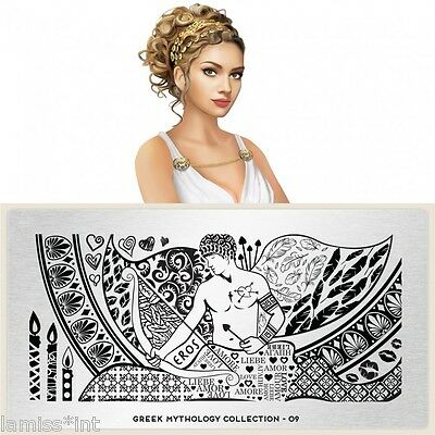 MoYou London GREEK 9 MYTHOLOGY Collection Stamping Schablone, Eros