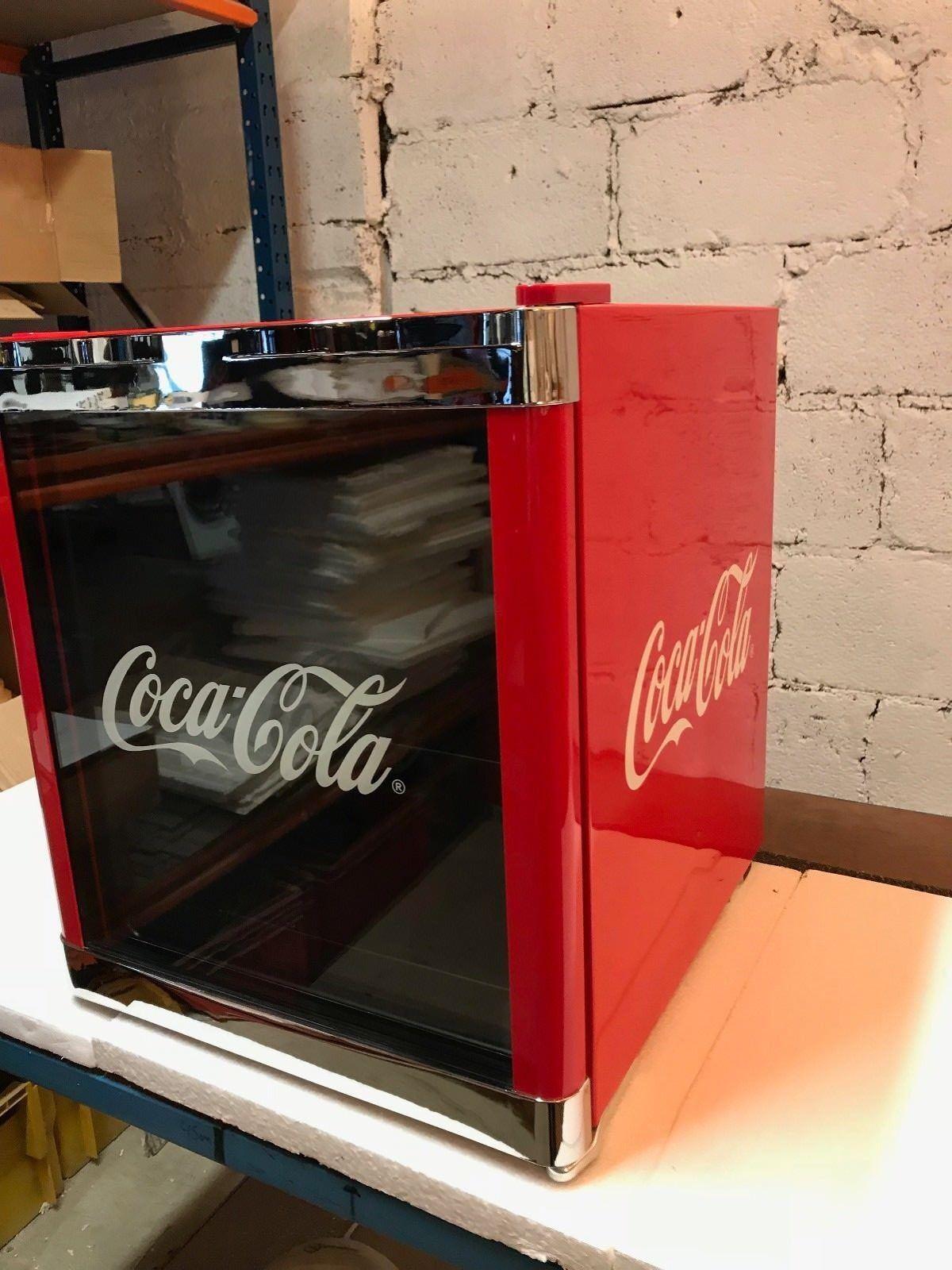 HUSKY Kühlschrank Coca Cola Design HUS-CC165 Cool ICE CUBE Mini Bar Kühl Würfel