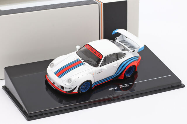 RWB Rauh-Welt Martini weiß 1:43 Ixo 993 Porsche 911