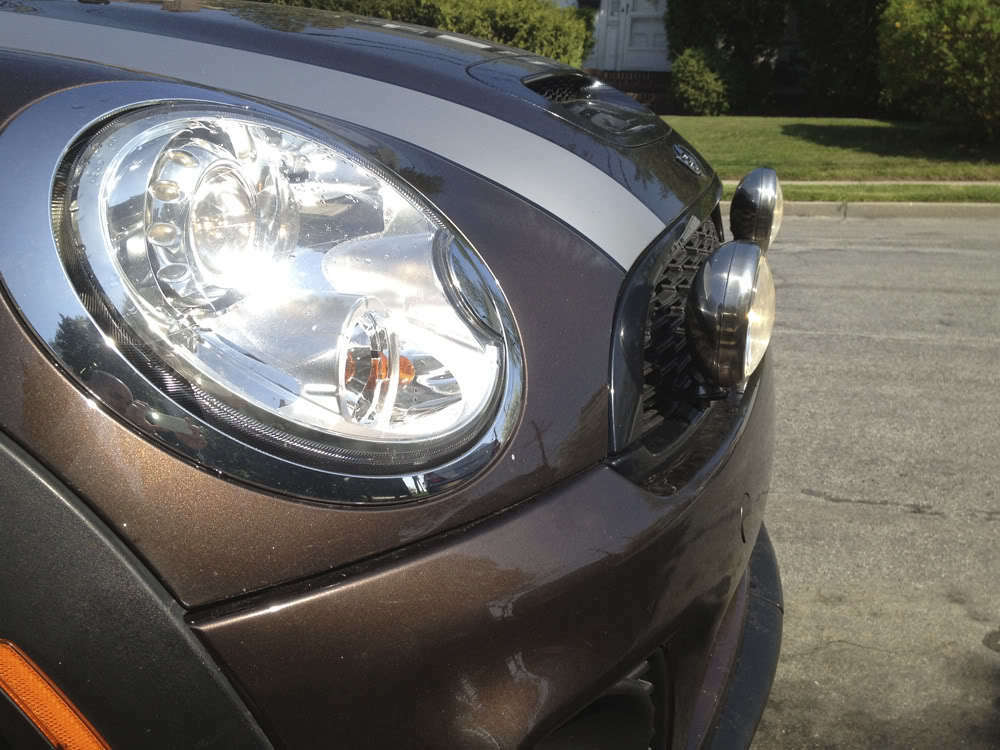 BMW Mini Scheinwerfer Scheinwerfer Scheinwerfer Lampen Auxilary Lampen + Komplettpaket 2006 AB 60d864