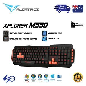 Computer-USB-Wired-Keyboard-ALCATROZ-Xplorer-M550-for-Office-Home