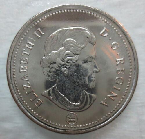 2006 LOGO CANADA 25¢ CARIBOU BRILLIANT UNCIRCULATED QUARTER