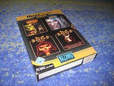 Warcraft PC BOX Blizzard BOX Diablo BOX Warcraft BOX kpl. deutsch mit ADDON