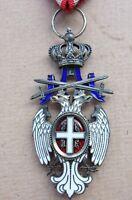 médaille militaire 1914-1918 ordre de l'aigle Blanc de Serbie Serbia order medal