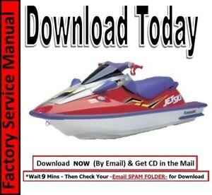 Kawasaki Jetski 1100 Zxi 1100 Stx Factory Service Manual 2000 2001 2002 Ebay