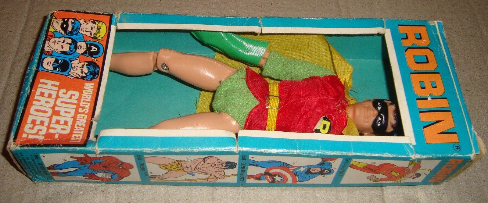 MEGO WORLD'S GREATEST SUPER-HEROES ROBIN BOX BOX BOX VERSION MEGO CORP. 1972 (BATMAN) 599c4d