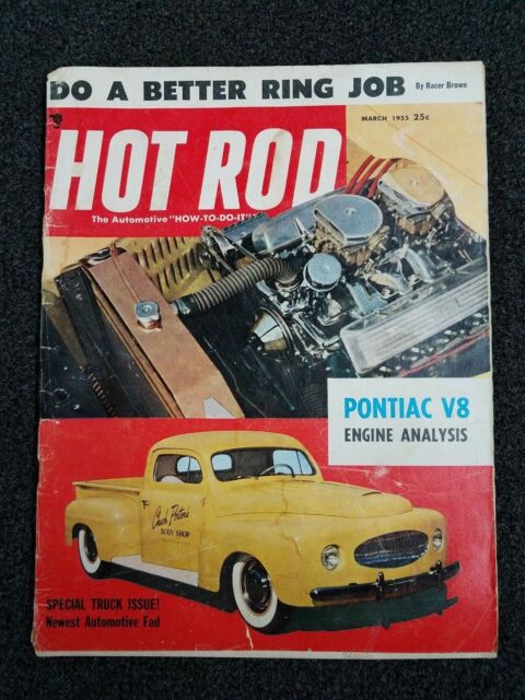 Vintage Hot Rod Magazine - Original - March 1955