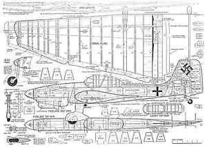 AgréAble Junkers Ju 87 Stuka Ligne De Contrôle Stunt Plan-afficher Le Titre D'origine