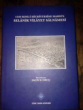 OTTOMAN GREECE THESSALONIKI YEAR BOOK 1902 NEW PRINT TURKISH BOOK -BALKANS-