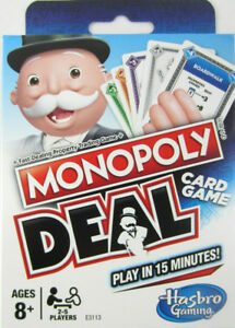 Monopoly-Deal-Card-Game-no-board-NEW-FACTORY-SEALED-Parker-Brothers