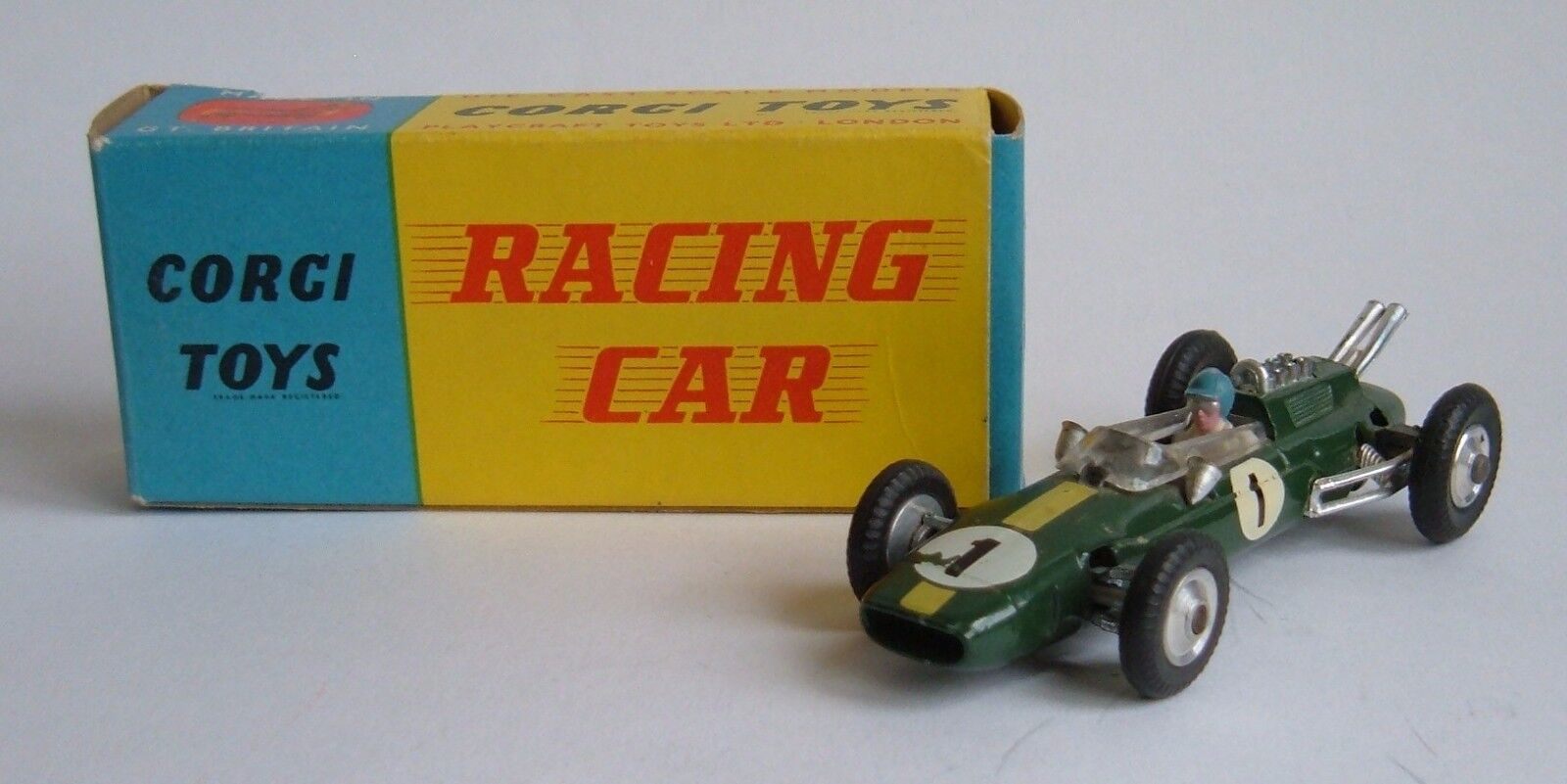 Corgi Toys No. 155, Lotus-Climax F1 Racing Car, - Superb