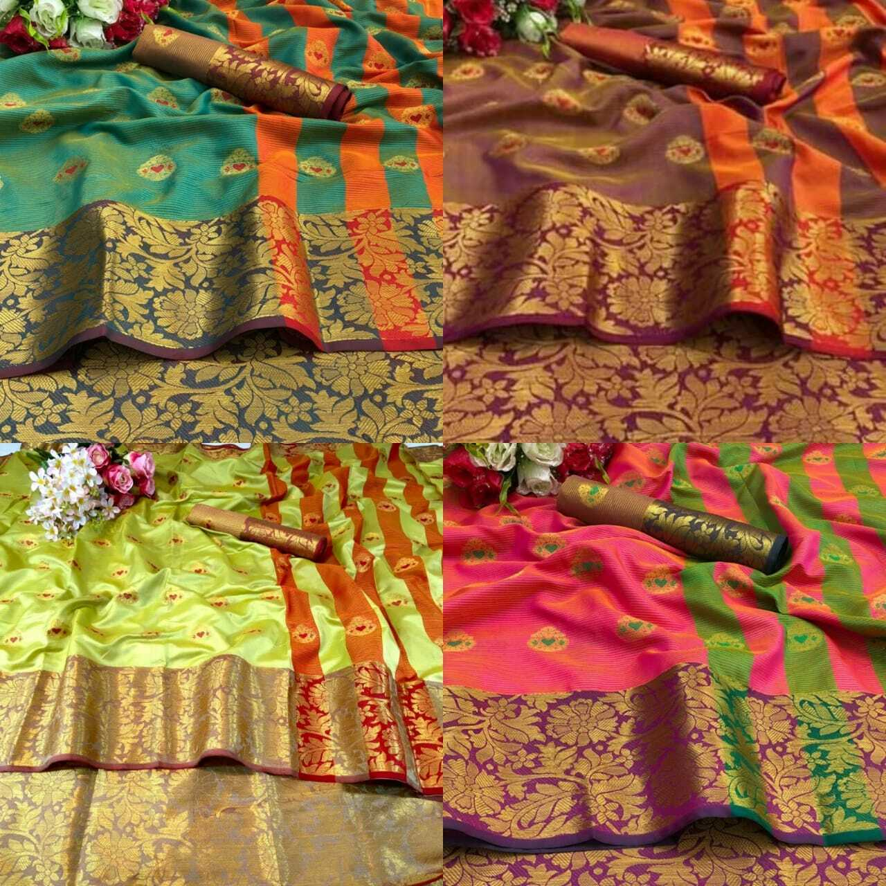 Saree Sari Indian Wedding Party Wear Women Designer Bollywood New Saree Blouse