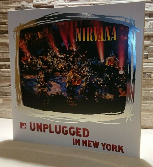 Nirvana MTV Unplugged in New York 25th Anniversary 180g 2LP Vinyl Gatefold