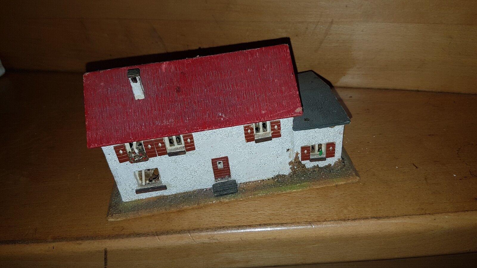 Faller -ein altes Gebäude mit Holzboden (Holzbauweise)50-60 er Jahre-Nr. 4