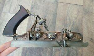 Antique Stanley No 45 Combo Wood Plane Woodworking Hand Tools Pat. Jan-22-95