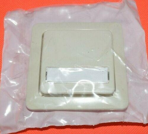 Cartouche palpeur blanc crème pour commutateur Jung 5561na centrales plaque bascule