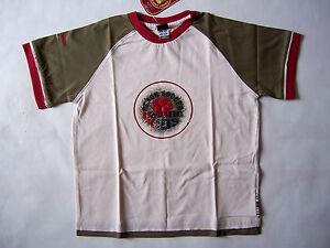 UMBRO-Tee-Shirt-bebe-taille-18-mois-2-ans-3-ans-coloris-craie-kaki-rouge