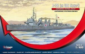 1//400 MIRAGE RARE! ex USS WICKES HMS MONTGOMERY WWII ROYAL NAVY DESTROYER