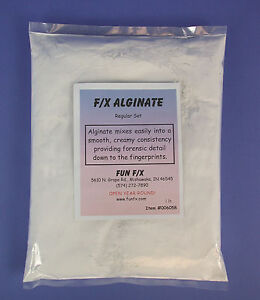 Details about F/X Alginate - 1 pound, mold making, sculpting, special fx,  effects, life cast