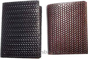 2-Style-Italien-Tisse-Imprime-Cuir-Homme-Portefeuille-Tripli-2-Billfolds-9-Carte