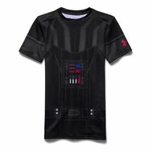 hará Prefijo Propuesta alternativa  Star Wars Darth Vader Under Armour Boys' UA Compression Graphic Shirt XL XS  NWT | eBay