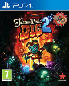 SteamWorld-Dig-2-PS4-BRAND-NEW-AND-FACTORY-SEALED-UK-STOCK