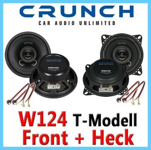 MERCEDES w124 Station wagonE-Classe T-Modello altoparlanti Box Set Completo Crunch