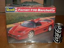 FERRARI F50 BARCHETTA - SPORTS CAR, Plastic Model Kit, Scale 1/24