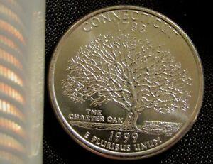 1999 Connecticutt Quarter Gem Silver Proof