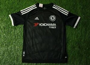 CHELSEA LONDON 2015-2016 FOOTBALL SHIRT JERSEY THIRD ADIDAS ORIGINAL YOUNG M