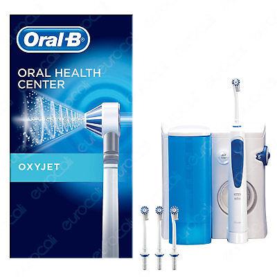 Oral B Oxyjet Sistema Pulente con Idropulsore per l'Igiene Orale dei Denti Braun