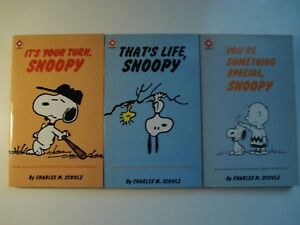 Charles M. Schulz 3 Selected Cartoons - Coronet Books/hodder Fawcett
