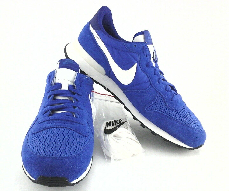 Nike Uomo scarpe vintage blu / bianco internazionalista 'waffle noi 11