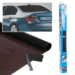 Black-Windows-Tint-Film-Car-Custom-Mod-Universal-Fit-3m-x-50cm-Blacked-Out-Kit