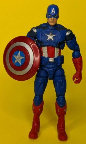 "CAPTAIN AMERICA 6/"" action figure 2012 Walmart Exclusive Marvel Legends Avengers"