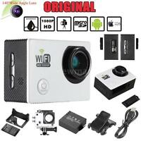 "Full HD Wifi Action Sports Camera DV Cam 2.0"" LCD 12MP 1080P 30FPS DVR FPV D9K2"