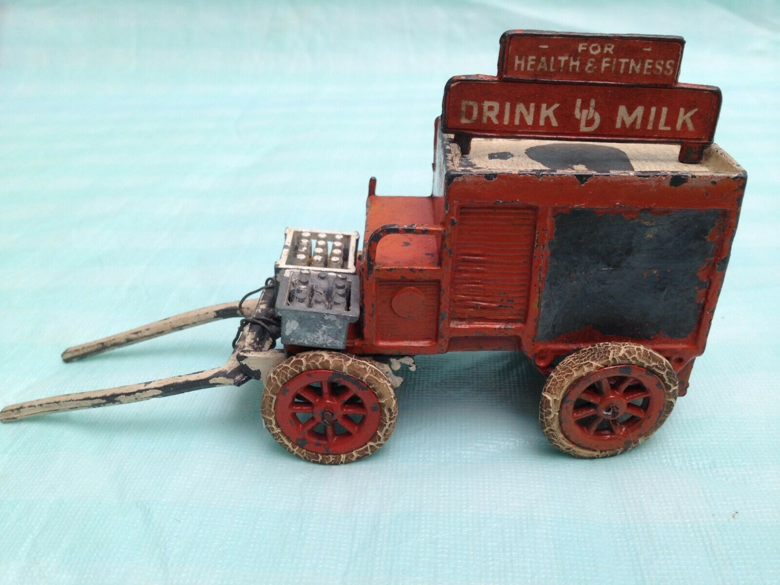 Vintage Chabens United Dairies Milk Delivery Cart No 821
