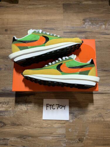 Nike Ld Waffle Sacai Green Multi Size 11 (Used)