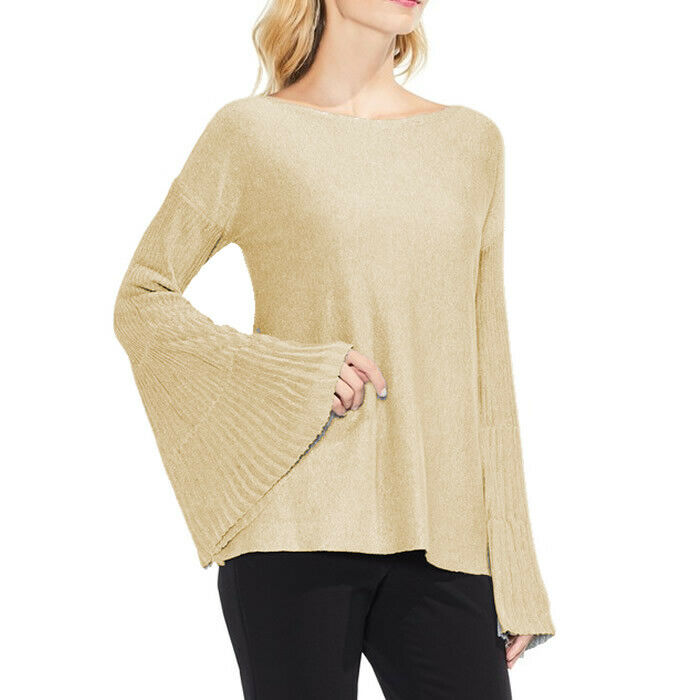 Vince Camuto Women's Sparkly Bell Sleeve Sweater Size 3X