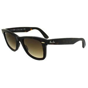 Ray-Ban Sunglasses Wayfarer 2140 902 51 Havana Brown Gradient Medium ... 561774ce631a
