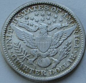 1899-O-Barber-Quarter-in-a-SAFLIP-VF-Details