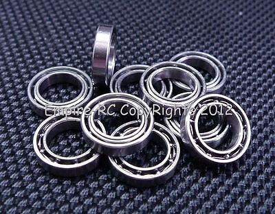 20 PCS 7x11x2.5 mm MR117 Metal OPEN Ball Bearing Bearings 7*11*2.5