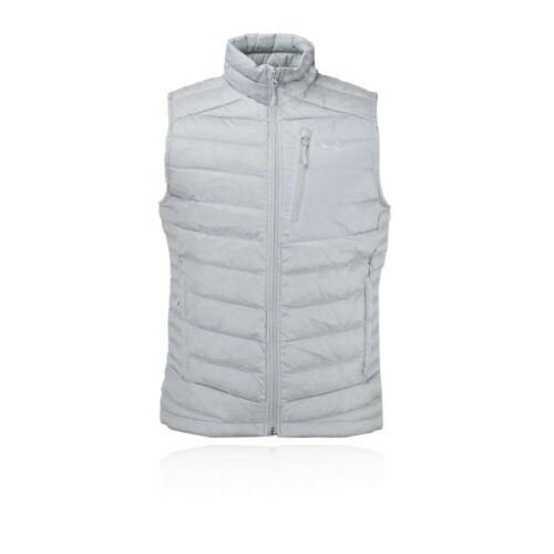 Under Armour Homme ISO Down Veste sans manches gris Sports Outdoors Full Zip respirant