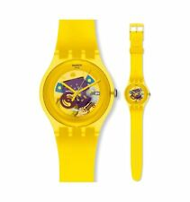 SWATCH NEW GENT YELLOW LACQUERED